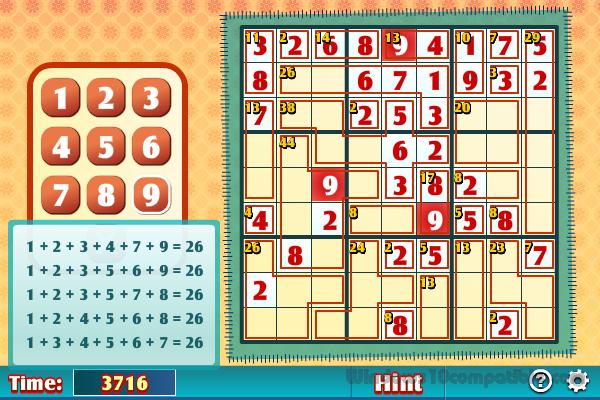 Killer Sudoku 1 3 2 Free download
